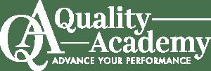 QA Logo White